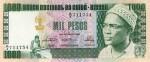 Amilcar Cabral sur un billet de 1000 pesos