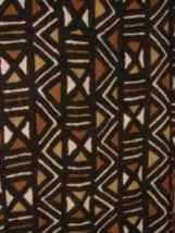A piece of Bogolan cloth