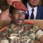 Thomas Sankara in Ouagadougou