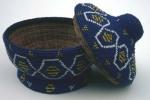 Beaded Bamileke basket (Cameroon)