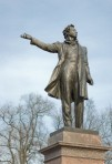 Pushkin's monument in St Petersburg