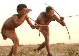 San (Basarwa/Bushmen) hunters