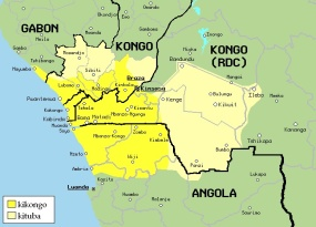 Kongo Kingdom map