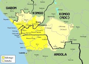 Kongo Kingdom map