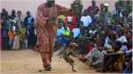 Yaya Coulibaly during a performance (source: BBC)