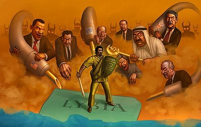 Libya, the Prey of the West