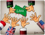 The destruction of Libya: the cake