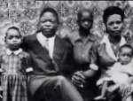 Ruben Um Nyobé with his family