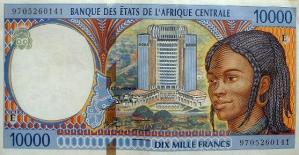 10,000FCFA (BEAC-1992)
