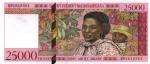 25000 FCFA (Banque Malgache-1994)