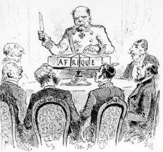 Le partage de l'Afrique a la Conference de Berlin de 1884