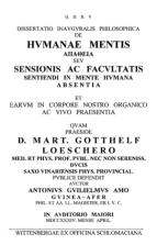Anton-Wilhelm Amo's Dissertation 1st Page (Source: www.jehsmith.com)