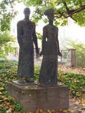 Sculpture of Anton-Wilhelm Amo in Halle