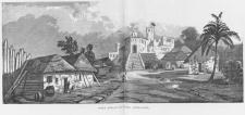 Fort San Sebastian or Fort Shama in Ghana, Henri Frey 1890
