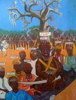 Soundiata Keita a l'Assemblée constitutive de l'empire du Mandé avec les chefs de guerre (Source: Wikipedia.fr)