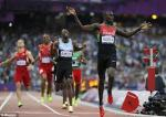 David Rudisha (followed by Nijel Amos)