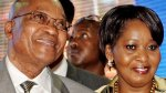 Jacob Zuma and his fourth wife