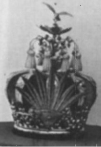 Royal Crown of Madagascar as worn by King Radama II, Ranavalona I's successor (ca 1862)