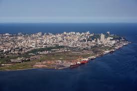 Modern day Maputo