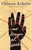 'No Longer at Ease' by Chinua Achebe