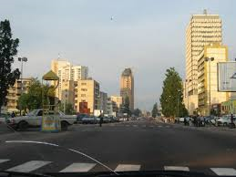 Boulevard of 30 June, in Kinshasa