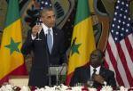 President Barack Obama with President Macky Sall of Senegal
