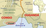 The location of Ishango