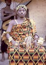 Paramount chief Nana Akyanfuo Akowuah Dateh II in Kumase,Ghana (Photograph by Eliot Elisofon,1970, National Museum of African Art).
