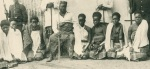 Gungunyane and his wives in exile in Acores