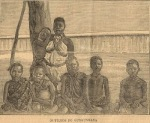 Picture of Gungunyane's children on board the ship 'Africa'- from the Diario Ilustrado -15 March 1896