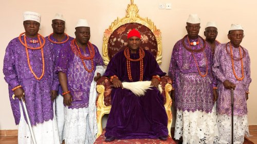 The Ovie of Umiaghwa Abraka kingdom (Source: George Osodi - BBC)