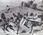 Zulu warriors at Isandlwana, 1879