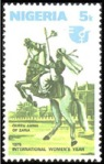 Queen Amina celebrated on a Nigerian stamp