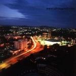 Yaoundé at night