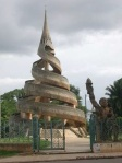 The Reunification Monument in Yaoundé