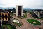 Yaoundé around the May 20th Boulevard