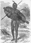 Illustration of the Ntemi of Urambo, Mirambo (from James William Buels Heroes of the Dark Continent (1890))