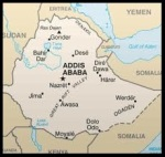 Map of Ethiopia