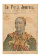 Impératrice Taytu Betul dans Le Petit Journal de mars 1896