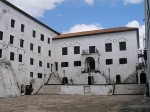 Inner courtyard at Elmina Castle (Source: Ghana.nl)