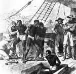 Slaves on board a ship