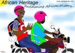 Happy 2015 (Illustration by Osee Tueam, for Dr. Y, Afrolegends.com)