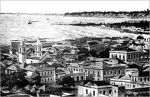 View of Luanda in 1883