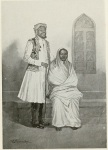 Painting of a Sidi couple of Bombay (by M.V. Dhurandhar, from the book 'By-Ways of Bombay', 1912)