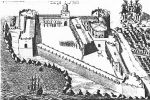 Cape Coast Castle in 1682