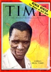 Sekou Toure, Cover Time Magazine, Feb. 16, 1959
