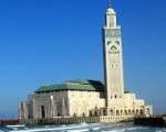 Hassan II Mosque with its world tallest Minaret