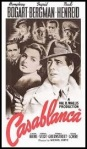 'Casablanca', 1942 movie starring Humphrey Bogart and Ingrid Bergman