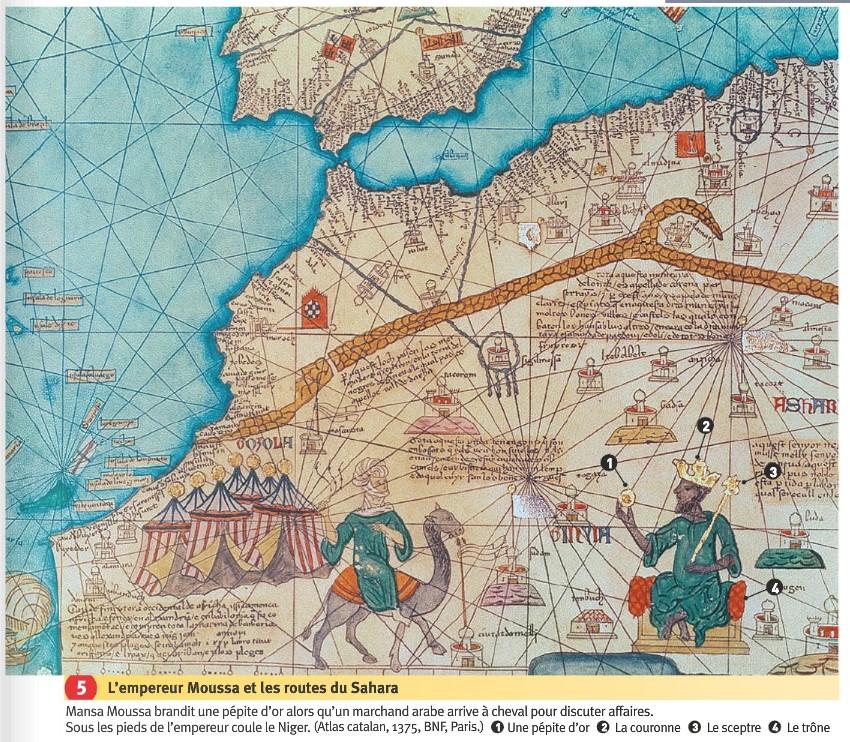 """Résultat de recherche d'images pour """"Mansa Kankou Moussa, Mali, gold empire"""""""