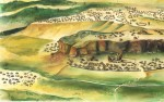 An artist impression of Mapungubwe (Source: newhistory.co.za)